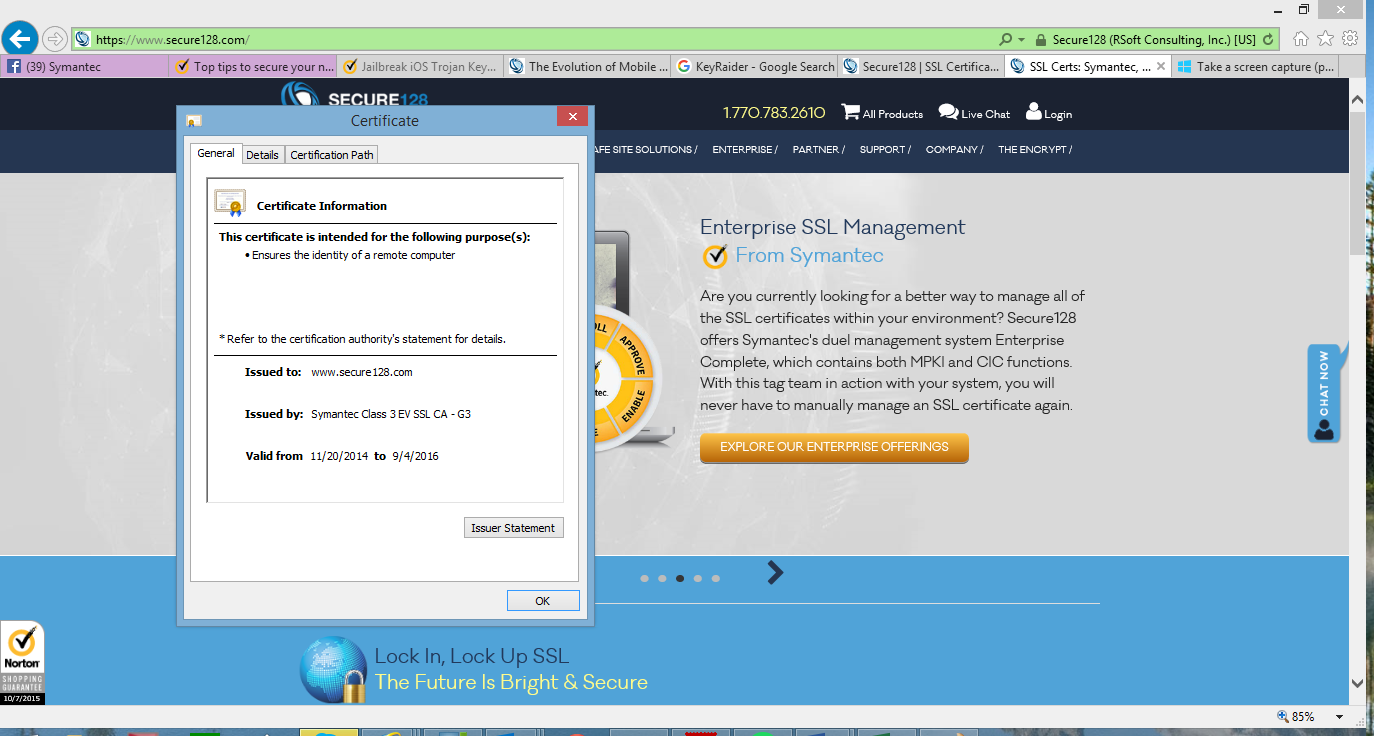 Evolution of mobile security ev ssl certificate xflitez Image collections