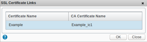 Certificate Name Example