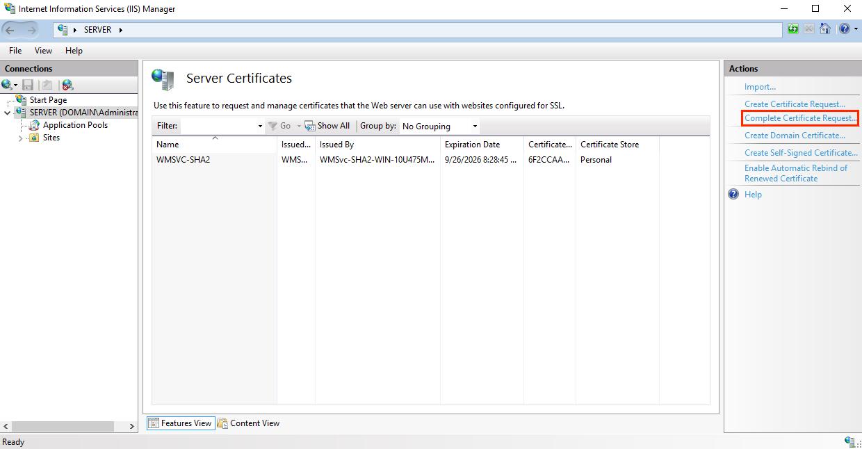 Installing A Ssl Certificate In Microsoft Iis 10 Secure128