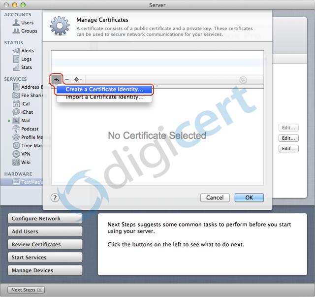 MAC OS X Lion generate CSR Guide | Secure128